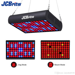Wholesale Full Spectrum Grow Lights - 300W LED Grow Light Panel Full Spectrum with IR Veg & Bloom Dual Mode JCBritw Growing Lamp Aluminum Made with Extendable Jack for Greenhouse