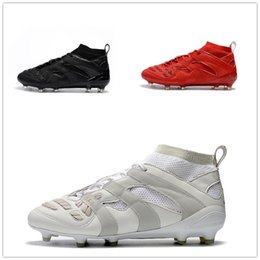 Wholesale David Beckham - Predator Accelerator DB 2017 David Beckham Soccer Cleats Mens Shoes Football Boots New Arrival Wholesale Drop Shipping With Box