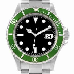 Wholesale Winding Movement - 2018 Top luxury brand Ceramic Bezel Mens Mechanical Stainless Steel Automatic Movement Watch Sports Self-wind Watches Wristwatch black