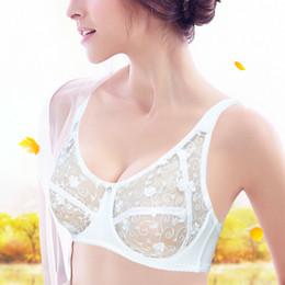 Wholesale bra dd - Ladies Secret Brand Bra For Women BH Full Cup Sexy Lingerie Transparent Brassiere Lace Bralette Plus Size A B C D DD E F 34-44