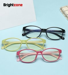 Discount new kids blocks - Brightzone New Style Ultra-light Children Kids Computer Blue Light Blocking Series Plain Non-diopter Eyeglasses Protect Glasses