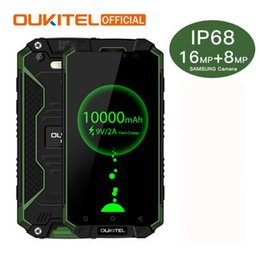 Wholesale Max English - Oukitel K10000 Max IP68 Waterproof Dustproof Shockproof MTK6753 3G RAM 32G ROM 10000mAh 5.5 FHD Fast Charge Touch ID Smartphone