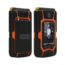 Wholesale One Touch Wifi - MAFAM X9 Land Flip Rover phone Double dual Screen Dual speaker Dual SIM Card one-key dial long standby 2500mAh FM mobile phone