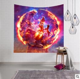 tapices de calidad Rebajas Noche asombrosa Starry Sky Star Tapestry 3D Impreso tapiz de la pared Tapestry Bohemia Beach Towel Table Manta de tela de calidad superior