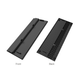 nueva llegada Simplicity Cooling Vertical Stand Mount Dock Cradle Holder Kit de prueba de polvo DIY Jack Stopper para Xbox One X OneX Game Console desde fabricantes