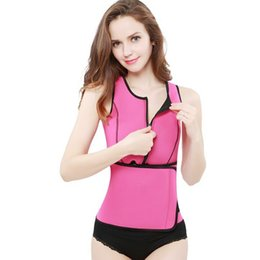835108fc84b New Style Women Plus Size Shaper Sauna Suit Tank Top Waist Trimmer with  Adjustable Waist Trainer Belt Slim S-3XL