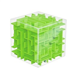 Wholesale Maze Cube Toy - 2017 Hot Sale Children's Puzzle Magic Maze Money Cans Intellectual Development 3d Three-dimensional Maze Cube Toys Puzzle Box