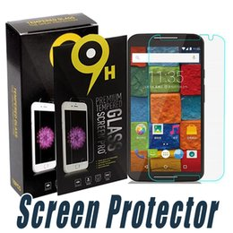 Wholesale Proof Play - Tempered Glass Screen Protector Explosion Proof 9H 2.5D Screen Protector Film For Moto G3 G5 Plus G4 G4 Plus G4 Play XL X Plus