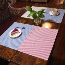 plain table cloths 2018 - Simple cotton linen cloth napkins table napkin square upscale Western tableware fold cloth wedding cloth napkins