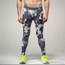 2018 Hommes Pantalon De Compression Collants Casual Bodybuilding Mans Pantalon Mince Marque Camouflage Armée Vert Skinny Leggings ? partir de fabricateur