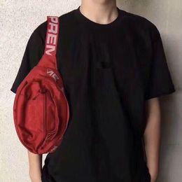 Wholesale men hip hop belt - Designer Waist Bag 18SS 3M 44th Sup Unisex Fanny Pack Fashion Waist Men Canvas Hip-Hop Belt Bag Men Messenger Bags Shoulder Bag 3M
