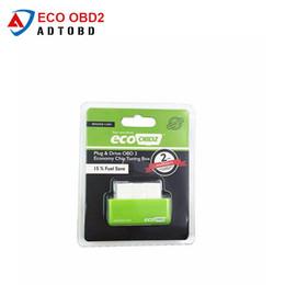 obd2 venda Desconto Venda quente Ferramenta de Diagnóstico ACARTOOL Verde EcoOBD2 Economia Chip Tuning Box OBD Saver Eco OBD2