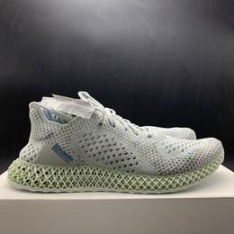 separation shoes db419 047b2 con la caja 2018 para hombre y para mujer Futurecraft 4D Imprimir UB Zapatos  para correr para hombre Diseñador de marca Calzado deportivo Tamaño FR 39-44