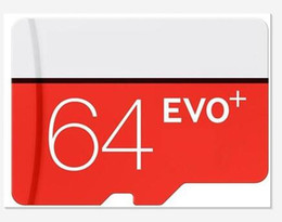 Wholesale Power Android - EVO Plus 32GB 64GB 128GB Class10 UHS-1 Micro TF SD Card for Android Powered Tablet PC Digital SmartPhones Up 80MB s EVO+