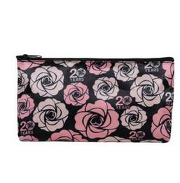 Le borse cosmetiche delle donne di modo piccole borse di stoccaggio rosa portatili mini borsa di immagazzinaggio del rossetto borse cosmetiche di nylon di buona qualità all'ingrosso cheap mini lipstick bags da borse mini rossetto fornitori