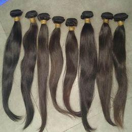feixes de tecido grosso Desconto 2019 nova tendência virgem reta cabelo humano weave cambodian cabelos naturais cor de espessura 3 pacotes expedições rápidas