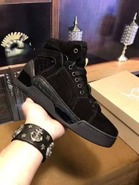Wholesale Perfect Band - 2017-High-quality Low top Aurelien Sneakers Flat Women, Men Red Bottom Shoes Perfect Quality Casual Outdoor Trainer Perfect Gift With Box