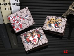 Wholesale heart shape clutch bag - 2018 high quality Red Wallets Purse Clutch Bags Classic Brand Short Wallet Gifts For Men Women Designer Coin Purses With 002