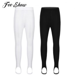 170825fcddc4f Unisex Kids Boys Girls Stirrup Ballet Dance Pantyhose Stockings Leggings  Tights Gymnastics Exercise Ballet Dance Wear Leggings