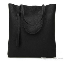Wholesale Cheap Leather Shoulder Bags - New Arrival Women Bags PU Leather Fashion 2018 Handbags Designer 849 Lady Brand Shoulder Tote Shopping Bag 3232 Cheap Sale