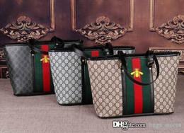 Wholesale womens genuine leather handbags - New Fashion Women Bag Bee G Shoulder Bags Girls Brand Luxury Designer Totes Ladies Leather Handbags Womens Tote G Bags Y8M High Quality