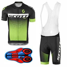 Wholesale Cycling Shorts Sizing - SCOTT Men Cycling Jersey Bike Bicycle Short Sleeve Mountaion MTB Shirts Breathable Cycle clothing Ropa Ciclismo