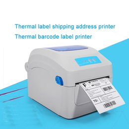 Wholesale Print Shipping Labels - Hight quality Thermal label shipping address printer Thermal lable barcode printer print width 104mm for Express and logistics