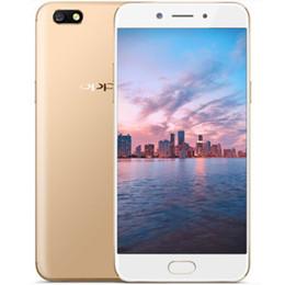 2019 k1 téléphones cellulaires Téléphone portable original OPPO A77 4G LTE 4 Go de RAM 64 Go de ROM Snapdragon 625 Octa Core Android 7.1 5.5 pouces 16.0MP d'empreintes digitales Smart Phone Mobile