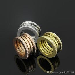 Высокое качество Болгария Весна кольцо с полным края CZ камень нержавеющая сталь 316L Любовь кольцо для мужчин Женщины пара свадьба палец кольцо ювелирные изделия от