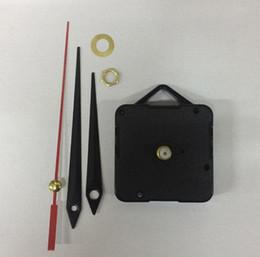 fern-portable alarm Rabatt Quarzuhr Uhr Uhr Teile und Zubehör Mechanismus DIY Ersatzteile Schwarz + Hände c761
