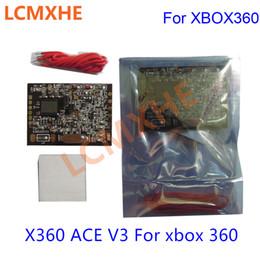 10PCS pour X360 ACE V3 avec puce 150MHz Crystal Coffee Edition 150 MHZ avec câble pour xbox 360 xbox360 slim ? partir de fabricateur