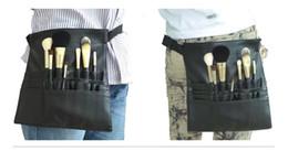 Neue Mode Make-up Pinsel Halter Stehen 22 Taschen Strap Black Belt Gürteltasche Salon Maskenbildner Kosmetik Pinsel Veranstalter DHL / Fedex / TNT / UPS von Fabrikanten