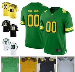 Custom Oregon Ducks College Football 8 Marcus Mariota 21 Royce Freeman  Apple Green Yellow white black Navy Stitched Any Name Number Jersey 483de489e