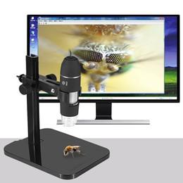 2019 loupe portable à microscope numérique Portable USB 2.0 Microscope Numérique 1000X Endoscope Électronique 8 LED 2 Millions De Pixels Pratique Loupe Microscope Caméra Noir promotion loupe portable à microscope numérique