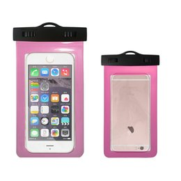 Wholesale Abs Plastic Mobile Phone Case - 5.8 Inch Waterproof Bag Mobile Phone Pouch Underwater Dry Case Cover For Canoe Kayak Rafting Swimming Drifting