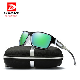 Wholesale cheap designer frames for men - DUBERY Polarized Sunglasses Men Women Driving Sport Sun Glasses For Men High Quality Cheap Luxury Brand Designer Oculos