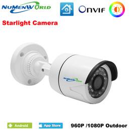 2019 câmera de alerta por e-mail Starlight Full HD 960 P 1080 P IP Câmera Ao Ar Livre Câmera de Vigilância Infravermelho Inteligente IP ONVIF Detecção de Movimento Alerta de E-mail câmera de alerta por e-mail barato