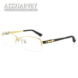 occhiali da vista in titanio per uomo Sconti Occhiali da vista da uomo in titanio Occhiali da vista montatura da vista Occhiali da vista Occhiali da vista Montatura da vista Classico di lusso Nero dorato