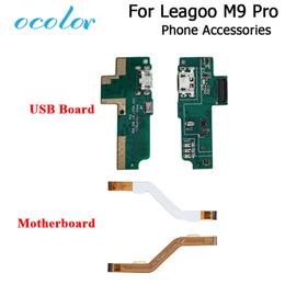 2019 мобильные телефоны leagoo ocolor For Leagoo M9 Pro Motherboard Flex Cable USB Plug Charger Board For Leagoo M9 Pro USB Board Mobile Phone Accessories дешево мобильные телефоны leagoo