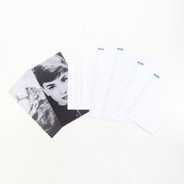Domikee clássico divisor de índice PP por 6 furos de arquivo cadernos planejador, divisor fino governante / marcador para revistas viajante, 4 tamanhos de Fornecedores de cadernos coreanos por atacado