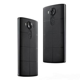 Wholesale Lg Android Unlocked - Unlocked Refurbished LG V10 H900 H901 5.7 inch Andorid 4GB RAM 64GB ROM 16MP Camera 3G LTE 4G WIFI Bluetooth MobilePhone