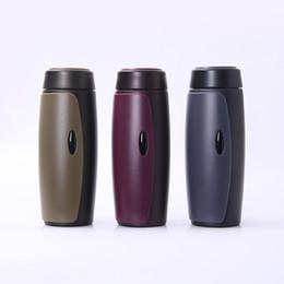 Wholesale bullet custom - wholesale Car travel cup Stainless steel outdoor sports cup vacuum bullet 304 stainless steel mug custom gift 500ml ykyd0001
