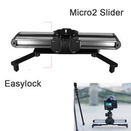 2019 schienenschieber für dslr MICRO 2 Pocket Macro Slider Kamera Track Videoschiene, Easylock Low Stand Macro Blacket Schiene für Videokamera DSLR Camcorder günstig schienenschieber für dslr