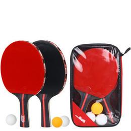 cf65a7fbb Melhor Qualidade De Madeira Bat Lidar Com Raquetes De Tênis De Mesa  Borrachas Vermelhas Pingpong Paddle Titular Curto Em Linha Reta Aderente Raquete  Raquete