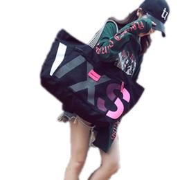 2019 sacs à main en couleur blanche Grand sac à provisions réutilisable Femmes Épaule Nylon Zipper Sac fourre-tout décontracté Bolsos Grandes Shopper Totes Sac à main écologique 50Z0017
