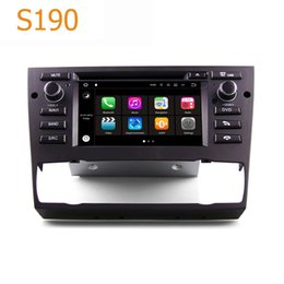 Wholesale Bmw Touch Screen Car Radio - Road Top S190 Android 7.1 System Quad Core CPU 2 Din Car Radio DVD Player GPS Navigation Head Unit Car PC for BMW 2006-2012 E90 E91 E92 E93