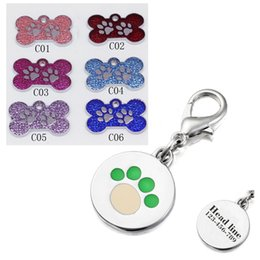 Wholesale Engraved Dog Name Tags - Free Engraved cat id tag text Name and Telephone any Language for small pet tag pet for cat and small dog