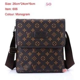 New Style Men Bags Luxury Brand Casual Mens Business Briefcase High Quality Man Messenger Bags Men's Shoulder bag