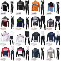 Wholesale Winter Bike Wear - Morvelo NW Cycling Winter Thermal Fleece jersey (bib) pants sets Bike Wear Comfortable Sportswear outdoor D1207