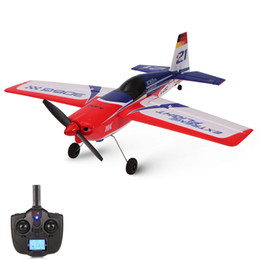 Wholesale Rtf Rc Airplanes - A430 2.4G 5CH Brushless Motor 3D6G System RC Airplane 430mm Wingspan EPS Aircraft Compatible Futaba S-FHSS RTF for XK Airplane